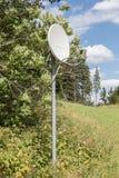 Antenne parabolique - TV image stock