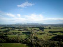 Antenne, paysage de Martinborough Nouvelle-Zélande Photos libres de droits
