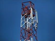Antenne per telefonia mobile Fotografie Stock
