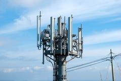Antenne senza fili radiofoniche Fotografie Stock Libere da Diritti