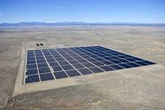 Antenne solaire de désert Images stock