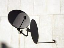 Antenne sur le mur Image stock