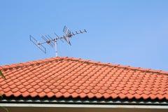 Antenne TV Image libre de droits