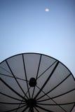 Antenne und Himmel Stockbild