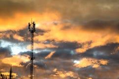 Antenne und Wolke Stockfotografie