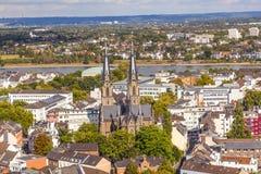 Antenne van Bonn, het vroegere kapitaal Royalty-vrije Stock Afbeelding