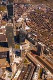 Antenne van de Baai van Boston de Achter Stock Foto