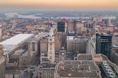 Antenne van de Horizon van Philadelphia Royalty-vrije Stock Fotografie