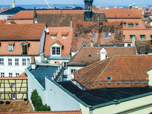 Antenne van de oude stad van Bamberg Royalty-vrije Stock Afbeelding