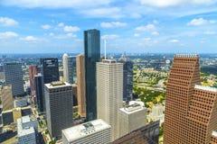 Antenne van moderne gebouwen Royalty-vrije Stock Fotografie