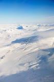 Antenne van Svalbard royalty-vrije stock fotografie