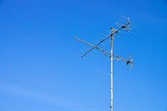 Antenne van TV (de lucht) Royalty-vrije Stock Afbeelding
