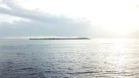 Antenne van Vreedzaam Zeegezicht in Indonesië stock videobeelden