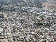 Antenne von Addis Ababa, Äthiopien Stockfoto