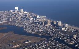 Antenne von Atlantic City New-Jersey Lizenzfreie Stockfotografie