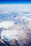 Antenne von Baffin-Inseln Stockfotos