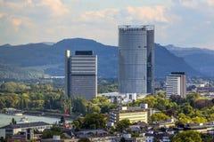 Antenne von Bonn Stockbilder