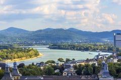 Antenne von Bonn Lizenzfreies Stockbild