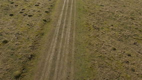 Antenne von englischen Feldern stock footage