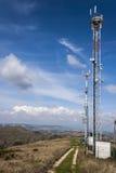 Antenne voor mobiele telefoons stock foto