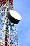 Antennenübertragungskontrolltürme Lizenzfreies Stockfoto