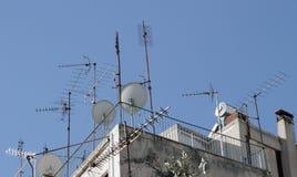 Antennen. Stockfotografie