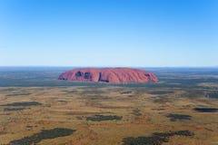 Antennen av Ayers vaggar, Australien Royaltyfri Bild