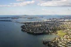 Auckland stad royaltyfri fotografi