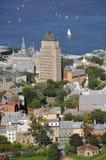 Gammala Quebec City Fotografering för Bildbyråer