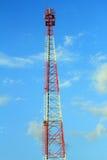 Antennen för mobil appell Arkivbilder