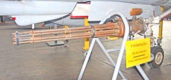 Antennen-Kanone Gatlings-Gewehr-20mm Lizenzfreies Stockbild