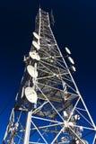 Antennenmast stockfotografie
