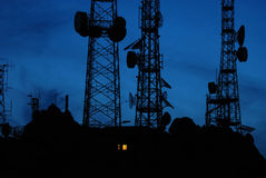 antenner Arkivfoto