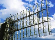 Antenner för satellit- maträtt Arkivfoton