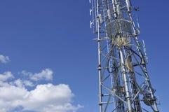 Antennes 2 van de telecommunicatie royalty-vrije stock foto