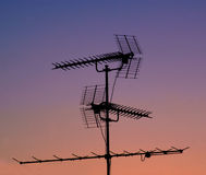 Antennes Stock Foto