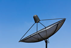 Antennes d'antenne parabolique photos libres de droits