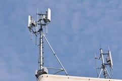 Antennes de téléphone sans fil Image libre de droits