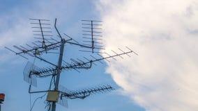 Antennes de télévisions Image libre de droits