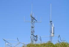 Antennes de transmission Photographie stock