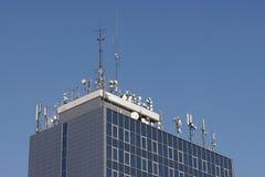 Antennes du monde Photo libre de droits