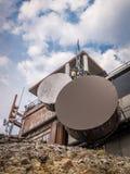 Antennes par radio tous temps Photographie stock