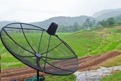 Antennes paraboliques Image libre de droits