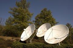 Antennes paraboliques Photo stock