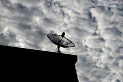 Antennes paraboliques Photographie stock