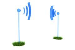 Antennes se connectantes Image libre de droits