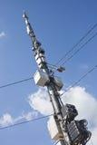 Antennes sur le fond de ciel bleu photo stock