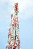 Antennetoren van Mededeling Royalty-vrije Stock Foto's
