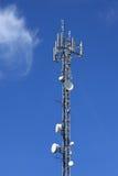 antennkommunikationstorn Fotografering för Bildbyråer