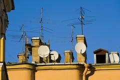antennsatellit Fotografering för Bildbyråer